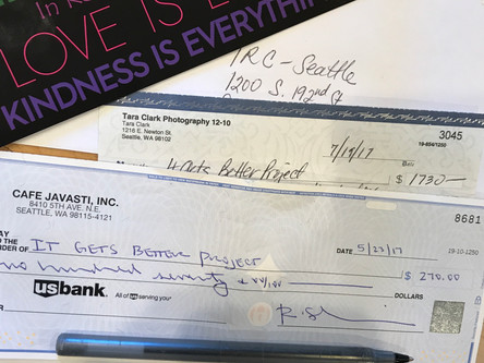 Spread Love sending donations