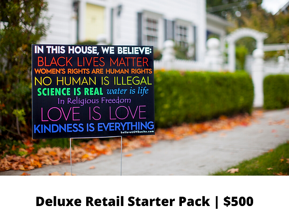 Deluxe Retail Starter Pack