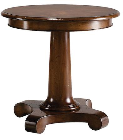 Pedestal Side Table  $2,689.00