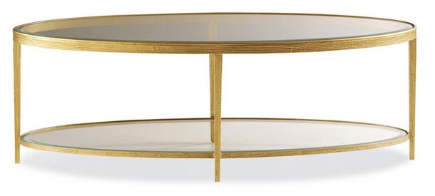 Jinx Brass Cocktail Table $1,125.00