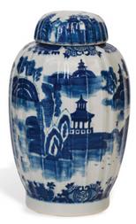 Braganza Blue Large Jar  $359.00
