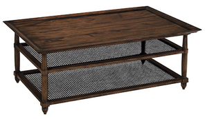 Cane Cocktail Table  $2,559.00