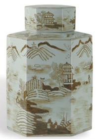 Canton Brown Jar   $79.00