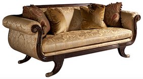 Grecian Lyre Chaise  $7,299.00