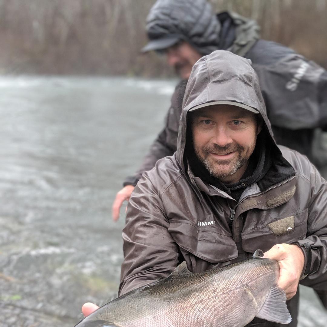 Silver Coho Salmon