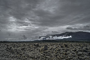 Cloudy Day at Nisga'a Memorial Lava Bed