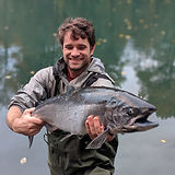 Huge-coho-happy-fisherman