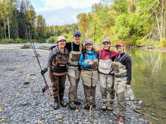 Womens Fishing Retreat