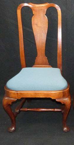 1750's chair, wool