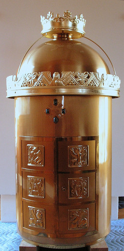 Tabernacle, after treatment