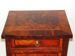 Side table 1, top, after treatment