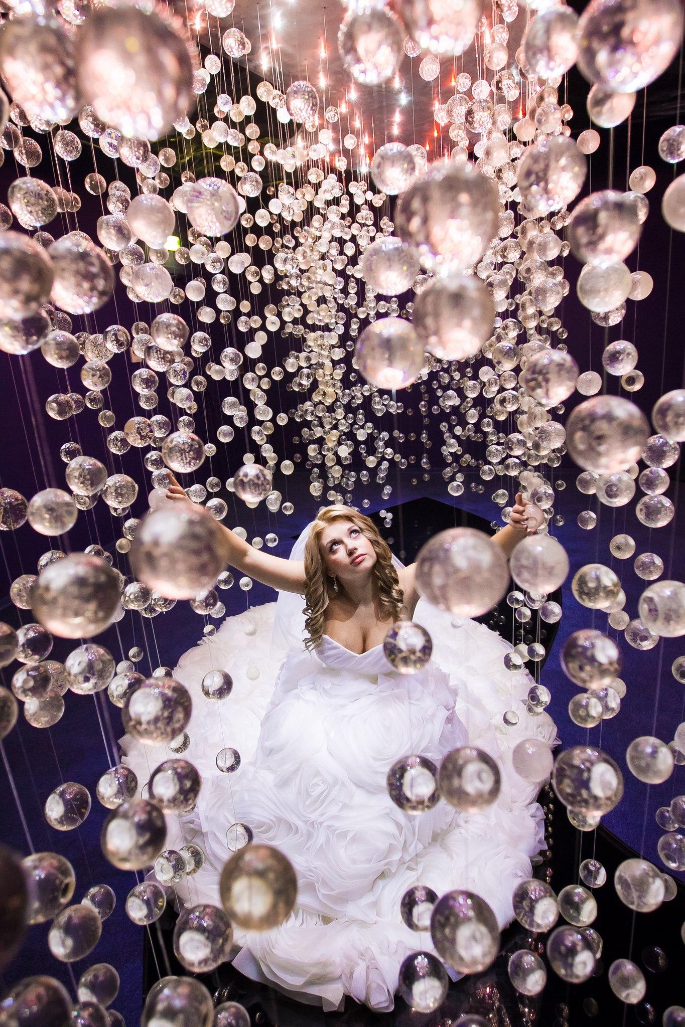 Невеста Виктория с платье от салона Светлана