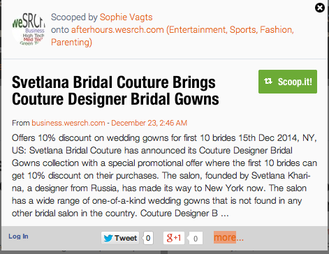 Svetlana Bridal Couture Salon