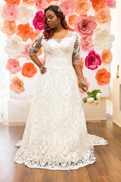 свадебные платья больших размеров салон светлана воронеж