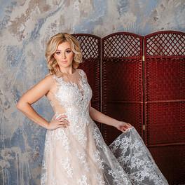 кружевное свадебное платье 2018