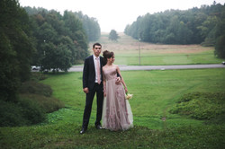 невеста Алеся в платья от свадебного салона Светлана