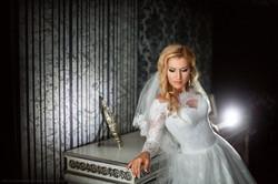Невеста Людмила в платье свадебного салона Светлана