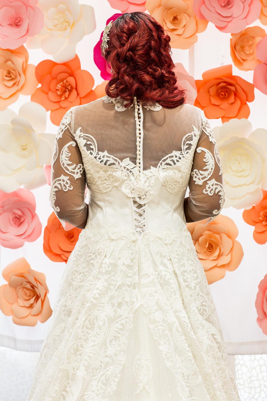 Кружевное свадебное платье большого размера от Салона Ателье Светлана
