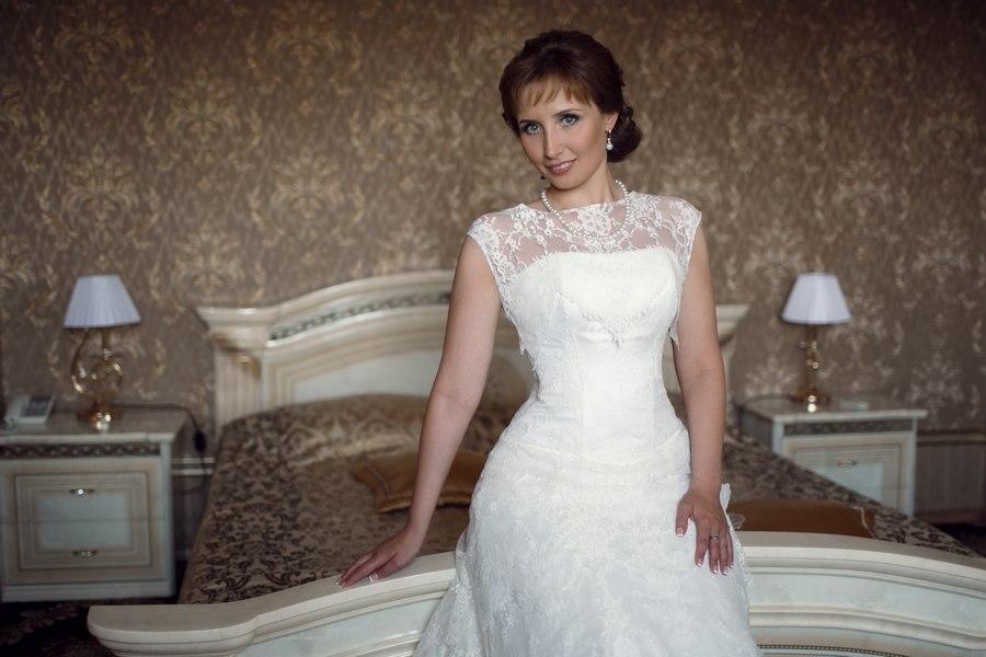 Невеста Татьяна в платье от Свадебного Салона Светлана