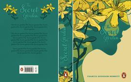 1. The Secret Garden - book jacket desig