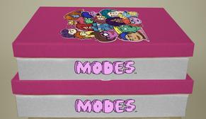 10. Modes - branding project - box desig