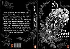 13. The Secret Garden - book jacket desi