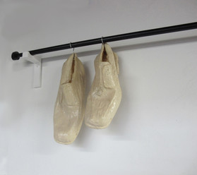 """""""Up to Dry"""": Polyurethane rubber, plaster, steel"""