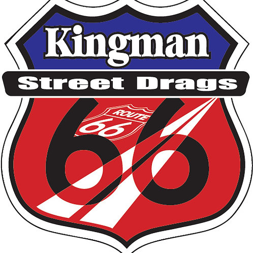 Kingman Street Drags logo Sticker