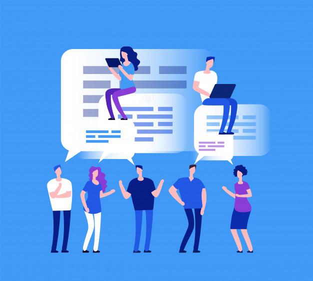 Discussion Forum Widget Feature