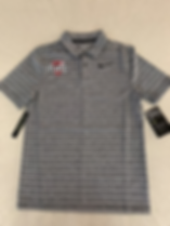 Nike Polo Shirt grey stripe.png