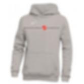 nike pullover fleece hoodie gray.png