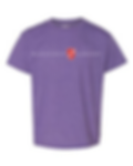 Unisex Goldman MBE shirt purple.png
