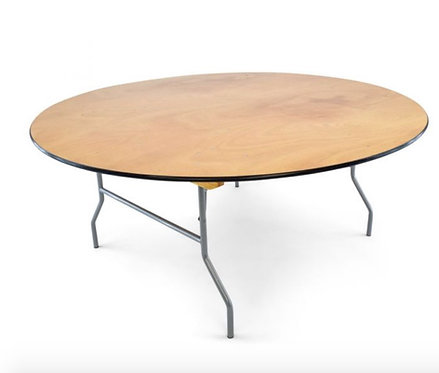 """60"""" round table's & 8' rectangular table's"""