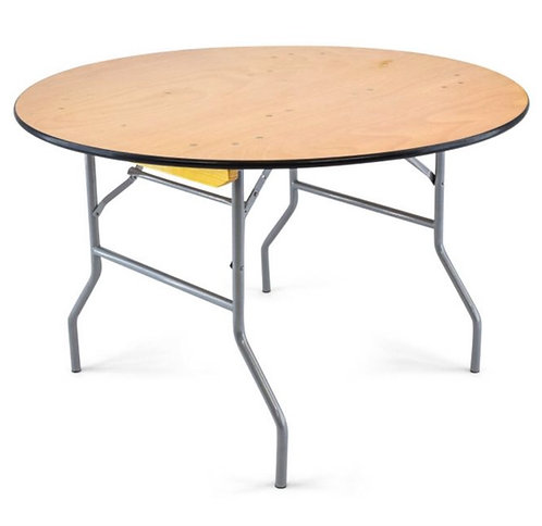 "48"" round table's & 6' rectangular table's"