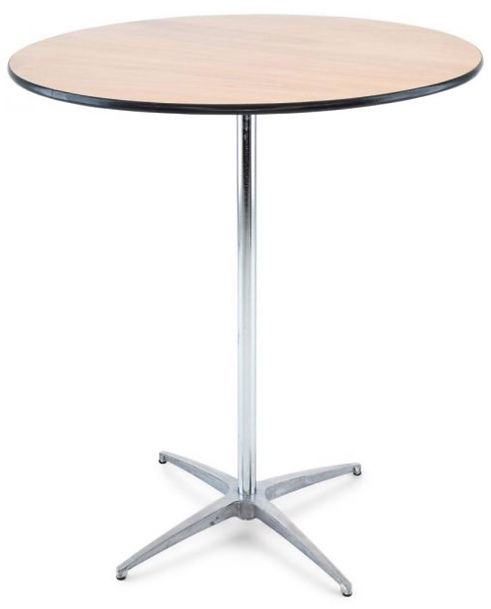 cocktail round table 30_width x42_height