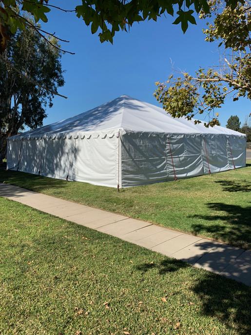 40'x40' tent