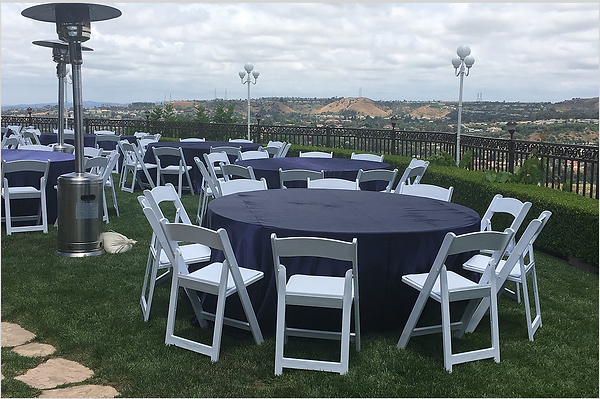 party rentals in Orange County, Placentia, Anaheim, Fullerton, and Brea
