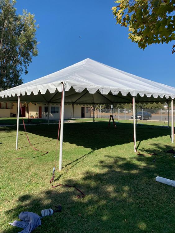 40'x40' canopy