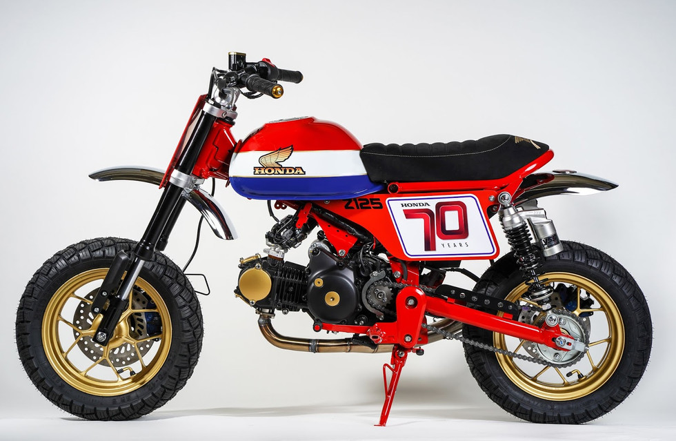 HONDA Z125 Tacker