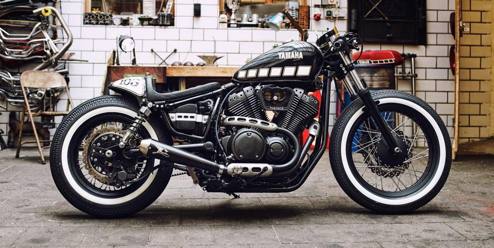 YAMAHA XVS950 The Face  YARD Built