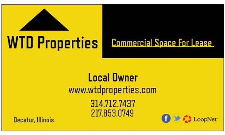 WTD Properties - Commercial Real Estate in Decatur, Illinois