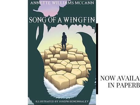 It's Paperback Release Day for Song of a Wingfin