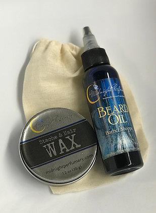 Stache & Beard Care Set