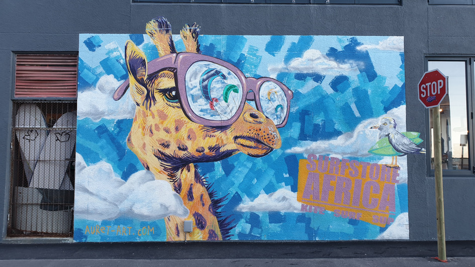 Grafiti in Muizenberg