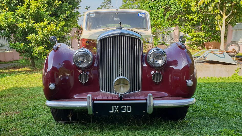 Ein Bentley von 1950