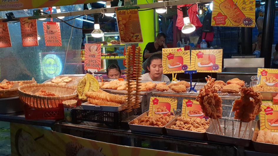 Nachtmarkt in Kuala Lumpur