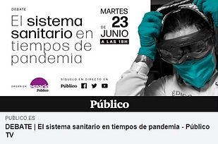Sistema sanitario en tiempos de pandemia