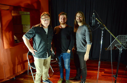 Recording Session with Ross Wilson in 2018