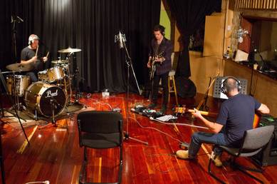 Recording Session with Angus Burchall and Rich Panaia in 2017