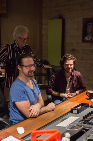 Recording Session with Phil Manning (CHAIN) and Lee Bradshaw in 2018